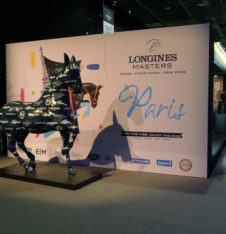 jumping;longines masters;textileframes